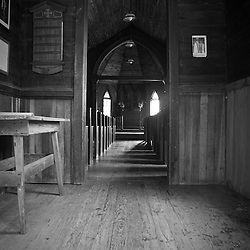 These old small churches are often very simple unlike many of the new monster churches popping up all over the south.