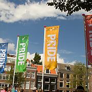NLD/Amsterdam//20170805 - Gay Pride 2017, Gay Pride vlaggen