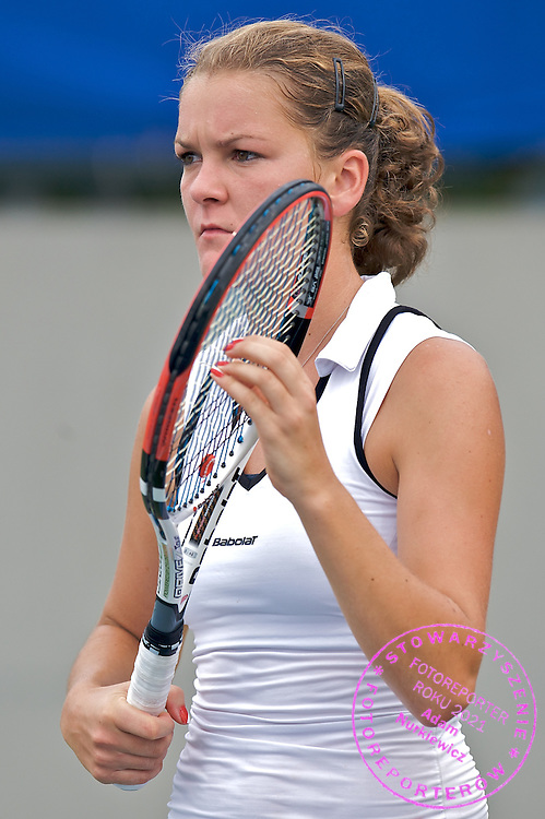 AGNIESZKA RADWANSKA (POLAND) TENNIS DURING TRAINING 2 DAYS BEFORE BEGINING BEIJING 2008 OLYMPIC GAMES IN CHINA..CHINA , BEIJING , AUGUST 6, 2008..( PHOTO BY ADAM NURKIEWICZ / MEDIASPORT )..PICTURE ALSO AVAIBLE IN RAW OR TIFF FORMAT ON SPECIAL REQUEST.