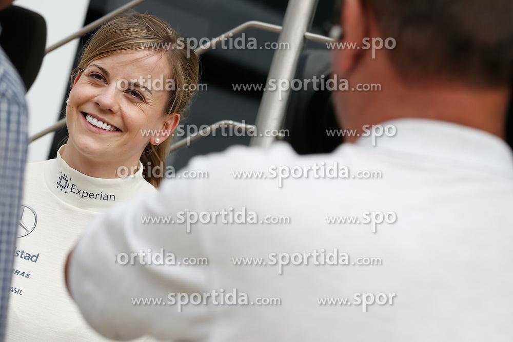 03.07.2014, Silverstone Circuit, Silverstone, ENG, FIA, Formel 1, Grand Prix von Grossbritannien, Vorberichte, im Bild Susie Wolff (GBR) Williams Development Driver // during the preperation of British Formula One Grand Prix at the Silverstone Circuit in Silverstone, Great Britain on 2014/07/03. EXPA Pictures &copy; 2014, PhotoCredit: EXPA/ Sutton Images/ Lavadinho<br /> <br /> *****ATTENTION - for AUT, SLO, CRO, SRB, BIH, MAZ only*****