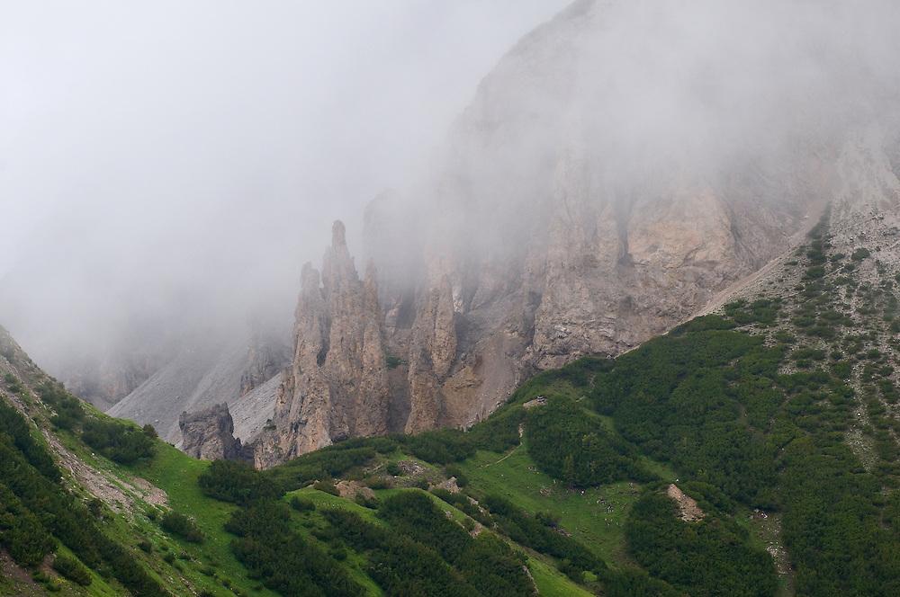 view from Augstenberg, Lichtenstein