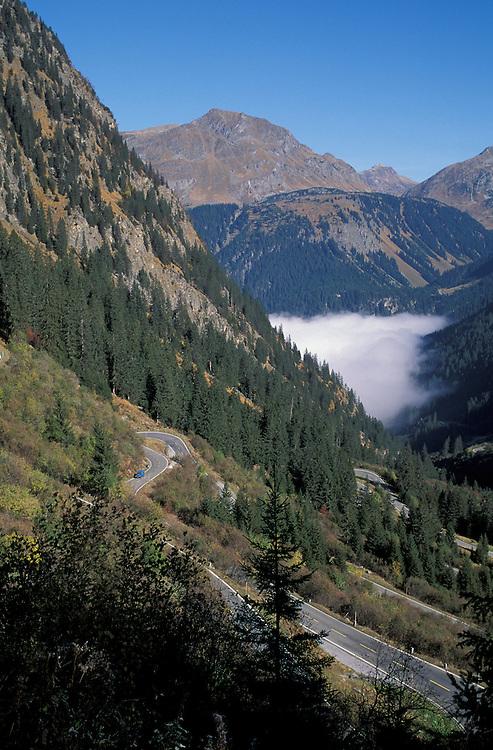 Silvretta Hochalpenstrasse, Vorarlberg, Austria