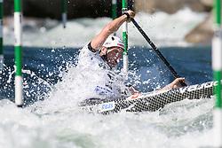 Benjamin SAVSEK of Slovenia during the Canoe Single (C1) Men SemiFinal race of 2019 ICF Canoe Slalom World Cup 4, on June 28, 2019 in Tacen, Ljubljana, Slovenia. Photo by Sasa Pahic Szabo / Sportida