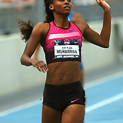 MUHAMMAD - 13USA, Des Moines, Ia. - Dalilah Muhammad won the 400 hurdles. Photo by David Peterson
