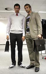 Two businessmen. (Photo by Vid Ponikvar / Sportal Images)