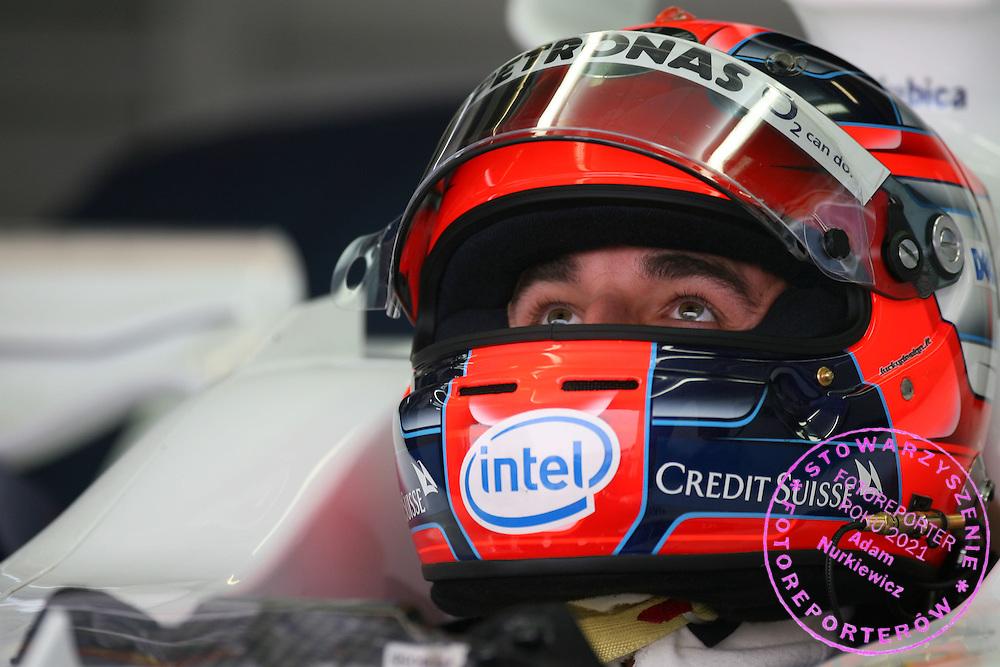 06.10.2006 Suzuka, Japan, ..Robert Kubica (POL),  BMW Sauber F1 Team - Formula 1 World Championship, Rd 17, Japanese Grand Prix, Friday Practice ..FOT. XPB.CC / WROFOTO..*** POLAND ONLY !!! ***