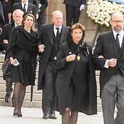 LUX/Luxemburg/20190504 - Funeral of HRH Grand Duke Jean/Uitvaart Groothertog Jean, Prins Carlos and Prinses Annemarie de Bourbon-Parma