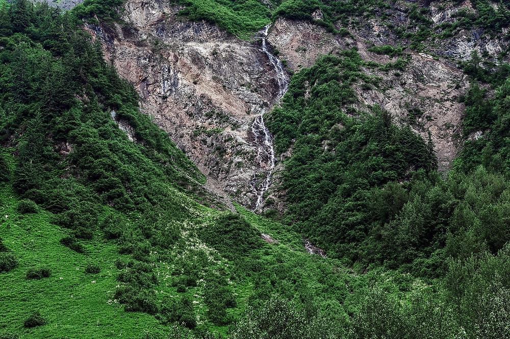 Mountain stream, Alaska, USA.