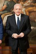 2013/05/03 Roma,  giuramento dei viceministri e dei sottosegretari. Nella foto Vincenzo De Luca..Rome, oath of deputy ministers and undersecretaries. In the picture Vincenzo De Luca - © PIERPAOLO SCAVUZZO