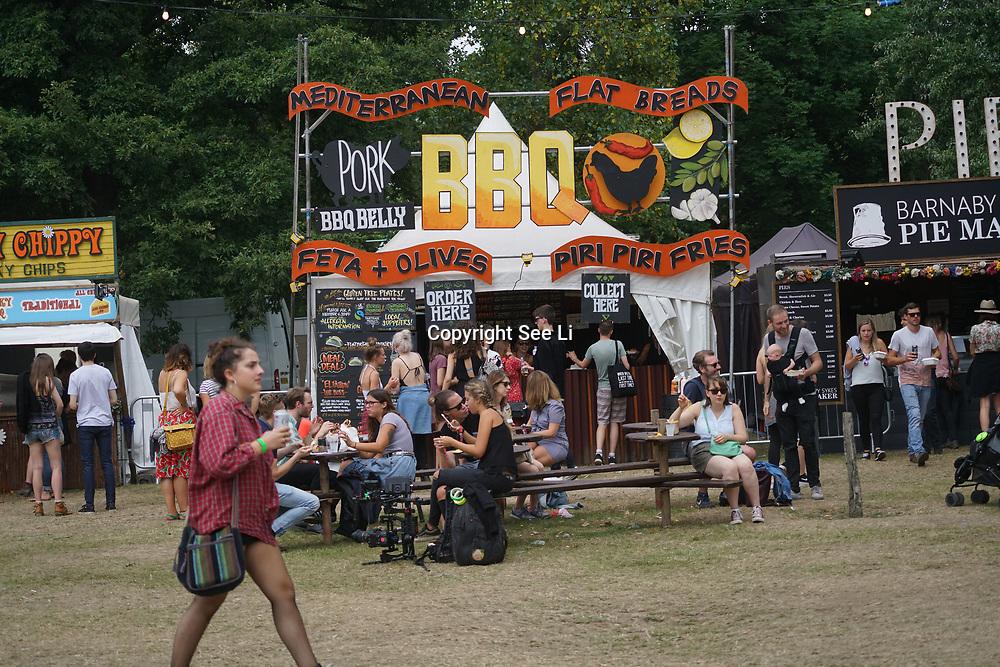 London, England, UK. 16th July 2017. Hundreds attends the Citadel Festival at Victoria Park, London, UK.