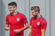 US men's soccer team training - 28 Aug 2017
