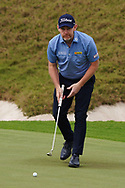 Stephen Gallacher (SCO) on the 1st during Round 1 of the Oman Open 2020 at the Al Mouj Golf Club, Muscat, Oman . 27/02/2020<br /> Picture: Golffile   Thos Caffrey<br /> <br /> <br /> All photo usage must carry mandatory copyright credit (© Golffile   Thos Caffrey)