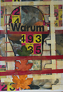 Warum , 2012  42  x 29  cm Mixed media Paolo Moretto/Mauricio Bustamante