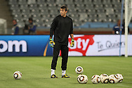 CAPE TOWN, SOUTH AFRICA - 10 JUNE 2010, Fernando Muslera during the Uruguay training session held at the Cape Town Stadium. Uruguay play France in their opening game on Friday 11 June 2010. Photo by: Shaun Roy/Sportzpics
