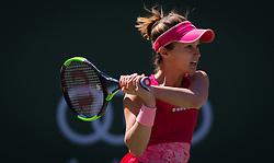 March 8, 2019 - Indian Wells, USA - Lauren Davis of the United States in action during her second-round match at the 2019 BNP Paribas Open WTA Premier Mandatory tennis tournament (Credit Image: © AFP7 via ZUMA Wire)