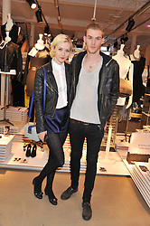 PORTIA FREEMAN and her brother LUKE FREEMAN at a party to celebrate the launch of the store & Other Stories, 256 Regent Street, London on 7th March 2013.