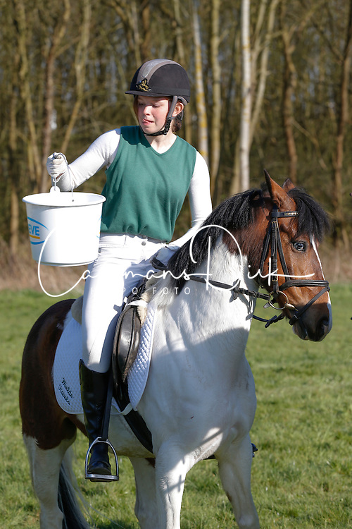 Dierckx Yasmien (BEL) - Pablo<br /> Nationale Pony eventing Affligem 2013<br /> © Dirk Caremans