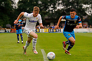 Leeds United Jack Clarke (11)  during the Pre-Season Friendly match between Tadcaster Albion and Leeds United at i2i Stadium, Tadcaster, United Kingdom on 17 July 2019.