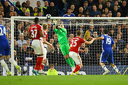 Brad Guzan of Middlesbrough saves another shot from Chelsea - Mandatory by-line: Jason Brown/JMP - 08/05/17 - FOOTBALL - Stamford Bridge - London, England - Chelsea v Middlesbrough - Premier League