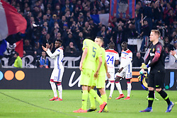 February 19, 2019 - Lyon, France - 27 MAXWEL CORNET (OL) - FAIR PLAY (Credit Image: © Panoramic via ZUMA Press)