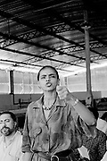 Marina Silva (Rio Branco-Brazil 1958). Inauguration of a rubber farm in Xapurì, in july 1997, then member of the brazilian senate for the state of Acre.She was member of the Partido dos Trabalhadores (PT), and main collaborator of Chico Mendes, the landless leader killed december 22nd, 1988, in Xapuri. In 1994, she was elected to the Senate at the age of 36.In 2003, she was Lula's minister of environment.In 2009, she left the PT for the Brazil Green party, and decided to run for presidency in 2010. july 1997, then member of the brazilian senate for the state of Acre.She was member of the Partido dos Trabalhadores (PT), and main collaborator of Chico Mendes, the landless leader killed december 22nd, 1988, in Xapuri. In 1994, she was elected to the Senate at the age of 36.In 2003, she was Lula's minister of environment.In 2009, she left the PT for the Brazil Green party, and decided to run for presidency in 2010.
