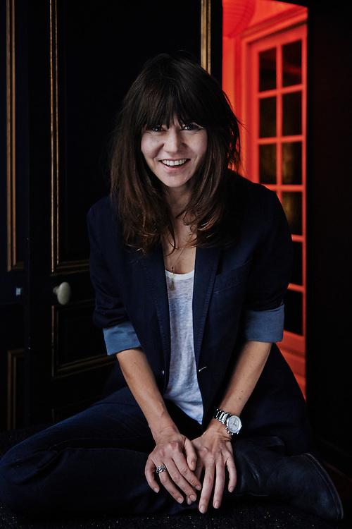 PARIS, FRANCE. NOVEMBER 22, 2013. Director Malgoska Szumowska at the Alba Hotel. Photo: Antoine Doyen