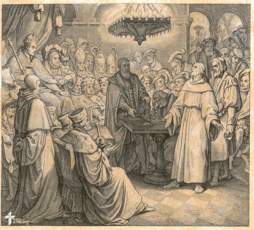 Martin Luther, Diet of Worms.