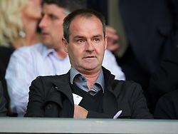 LIVERPOOL, ENGLAND - Wednesday, August 17, 2011: Liverpool's assistant manager Steve Clarke watches his side take on Sporting Clube de Portugal during the first NextGen Series Group 2 match at Anfield. (Pic by David Rawcliffe/Propaganda)