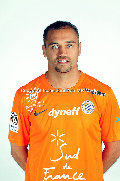 Laurent PIONNIER - 02.09.2013 - Presentation des joueurs de Montpellier - <br /> Photo : / Icon Sport