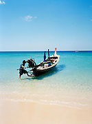 Longtail boat in the Andaman Sea