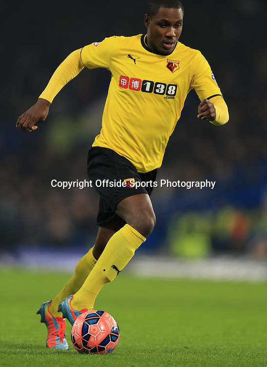 4 January 2015 - The FA Cup 3rd Round - Chelsea v Watford - Odion Ighalo of Watford - Photo: Marc Atkins / Offside.