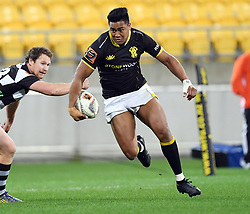 Wellington's Julian Savea against Hawkes Bay in the Mitre 10 Cup rugby match at Westpac Stadium, Wellington, New Zealand, Wednesday, September 06, 2017. Credit:SNPA / Ross Setford  **NO ARCHIVING**