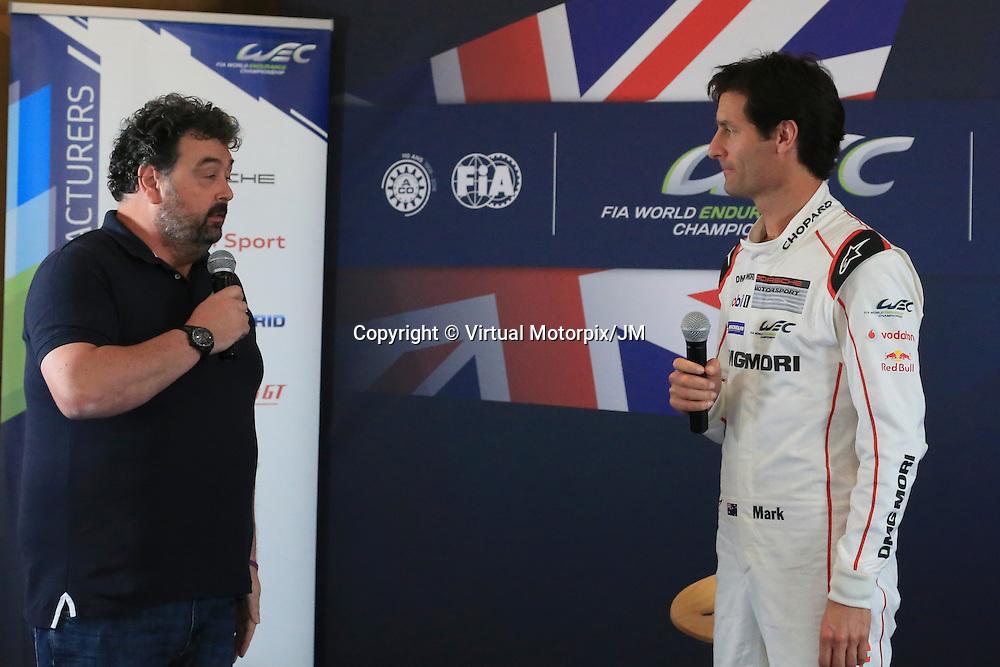 Silverstone Press Conference, FIA WEC Prologue Circuit Paul Ricard, 24/03/2016,