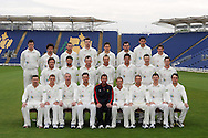 Glamorgan County Cricket Club, season 2012, photocall at the Swalec Stadium in Cardiff. pic by Andrew Orchard