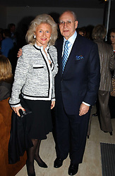 SIR GEOFREY & LADY LEIGH at a fashion show of the new fashion label Chester Bonham held at the Aston Martin Showroom, Park Lane, London on 15th November 2004.<br /><br />NON EXCLUSIVE - WORLD RIGHTS