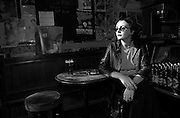 A portrait of vocalist Beverly Fox of The Shy People, at a pub in the Camden Town section of London, England.<br /> <br /> MANDATORY CREDIT: M David Leeds
