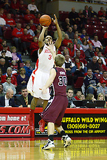Trey Blue Illinois State Redbird Basketball Photos