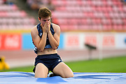 Alice Moindrot (FRA) wins the Bronze Medal in Pole Vaullt Women during the IAAF World U20 Championships 2018 at Tampere in Finland, Day 3, on July 12, 2018 - Photo Julien Crosnier / KMSP / ProSportsImages / DPPI