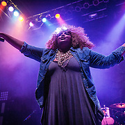 LIZZO performing at 930 Club on February 24, 2014.
