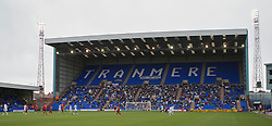 BIRKENHEAD, ENGLAND - Saturday, October 2, 2010: Prenton Park during Tranmere Rovers' Football League One match against Brighton & Hove Albion. (Photo by Vegard Grott/Propaganda)