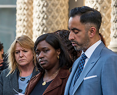Family of Sheku Bayoh meet Lord Advocate, Edinburgh, 3 October 2018
