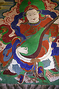 Temple artwork - Ladakh 2006