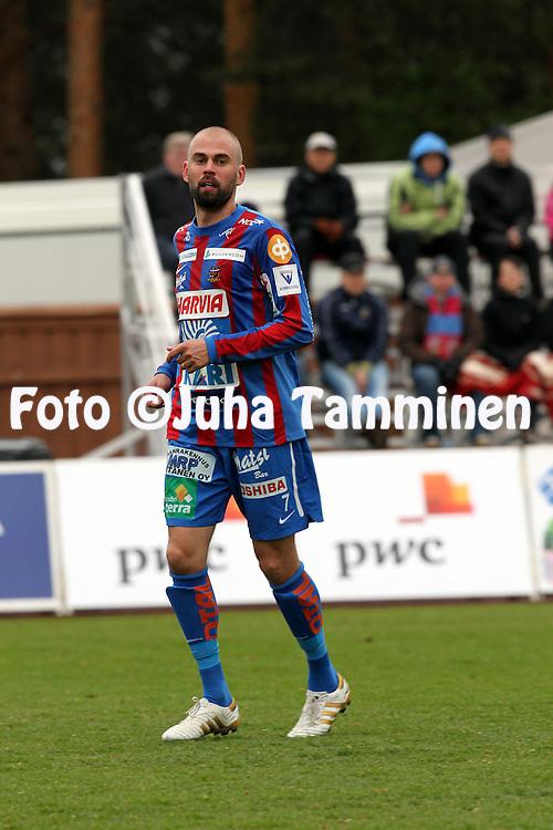 16.5.2011, Harjun stadion, Jyv?skyl?..Veikkausliiga 2011, JJK Jyv?skyl? - FC Haka Valkeakoski..Anssi Viren - JJK.