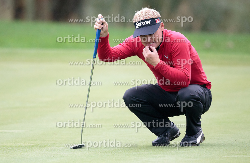 26.09.2015, Beckenbauer Golf Course, Bad Griesbach, GER, PGA European Tour, Porsche European Open, im Bild Soeren Kjeldsen (DEN) // during the European Tour, Porsche European Open Golf Tournament at the Beckenbauer Golf Course in Bad Griesbach, Germany on 2015/09/26. EXPA Pictures © 2015, PhotoCredit: EXPA/ JFK