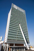 KPN Telecom Building, architect Renzo Piano completed in 2000, Rotterdam, Netherlands