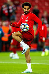 Mohamed Salah of Liverpool - Mandatory by-line: Robbie Stephenson/JMP - 02/10/2019 - FOOTBALL - Anfield - Liverpool, England - Liverpool v Red Bull Salzburg - UEFA Champions League Group Stage