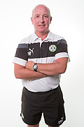 Forest Green Rovers physio Ian Weston during the Forest Green Rovers Photocall at the New Lawn, Forest Green, United Kingdom on 31 July 2017. Photo by Shane Healey.