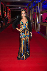 ASSIA WEBSTER at the Battersea Dogs & Cats Home's Collars & Coats Gala Ball held at Battersea Evolution, Battersea Park, London on 12th November 2015.