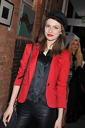 TALI LENNOX at the Raymond Weil Pre-Brit Awards Dinner held at The Mosaica, The Chocolate Factory, Clarendon Rd, Wood Green, London N22 on 24th January 2013.