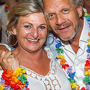 NLD/Amsterdam/20150530 - Toppers concert 2015 Crazy Summer edition, makelaar Jacques Walch en partner